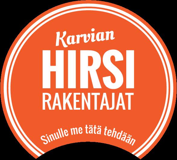 karvian-hirsirakentajat-logo